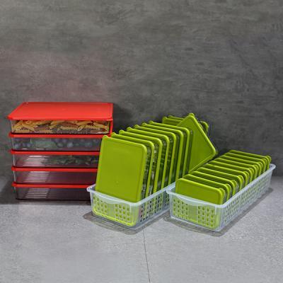 냉장고소분용기 2015 납작 기본세트F
