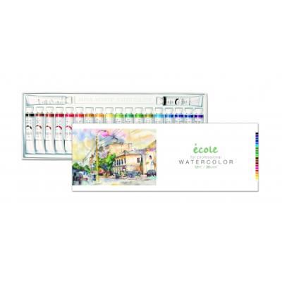 에꼴수채화물감20색 (알파) (세트) 267210
