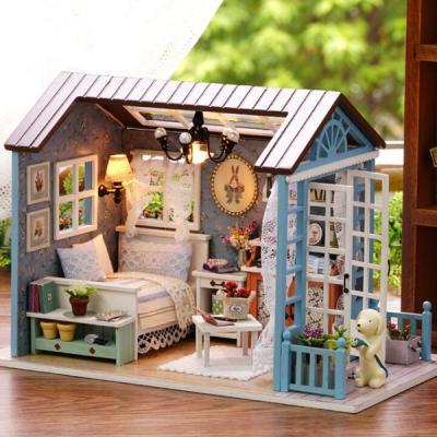 [adico]DIY 미니어처 하우스 - 레트로 침실