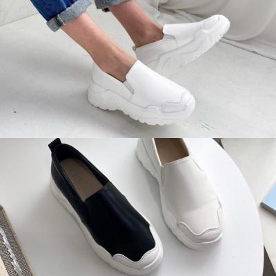 [애슬릿]어글리 키높이 여성 슬립온 운동화 5cm