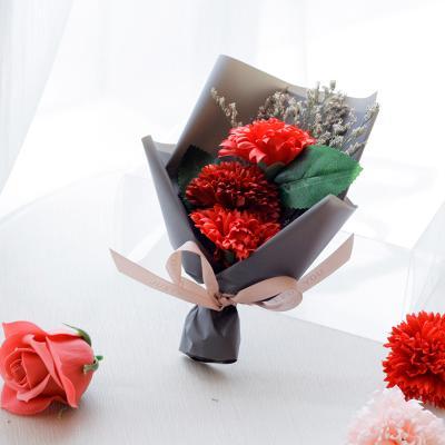 세송이 카네이션 비누꽃 꽃다발(1+1행사)