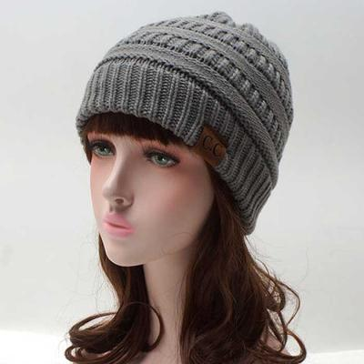 Invierno Mujer knit 꽈배기 beanie 6color CH1645057