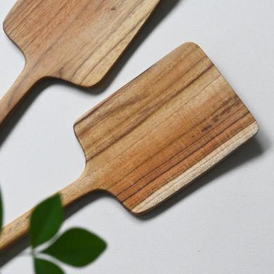 롬우드 인디아티크 나무 사각뒤집개 대