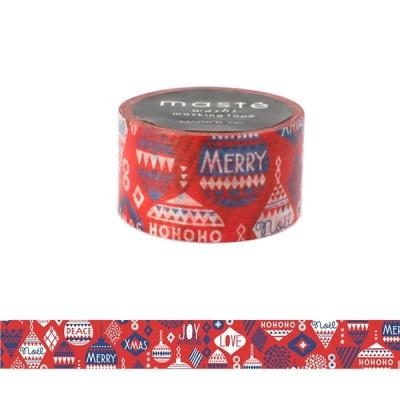 [Mark's]크리스마스 마스킹테이프 MST-ZX01