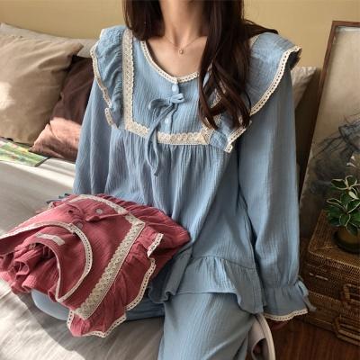 벨라 워싱 요루면 여성 잠옷 세트 홈웨어