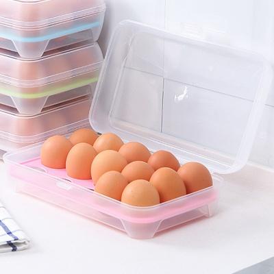 프레쉬 15구 계란케이스(핑크)