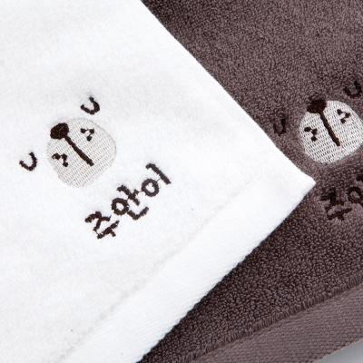 [주문제작]어린이집네임수건송월 해피페이스 곰