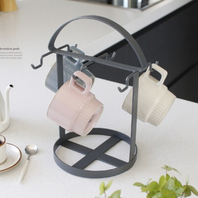 [2HOT] 디몬 철제 커피잔 걸이 6구
