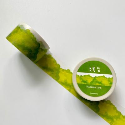[람찌네소품샵] 초록잎 마테/25mm