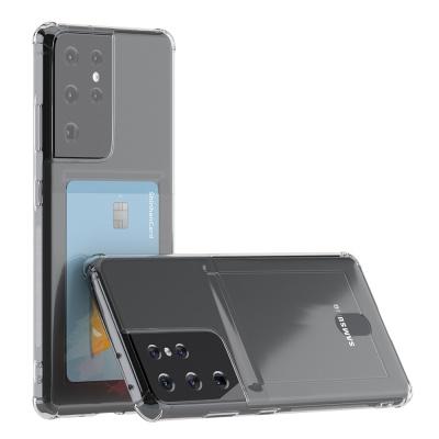 갤럭시 S21 울트라 아이스핏 에드온 TPU 카드 케이스
