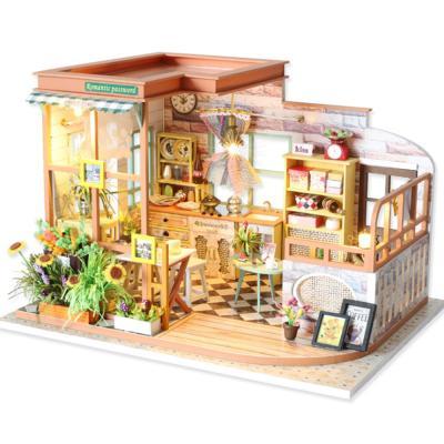 [adico]DIY 미니어처 하우스 - 로맨틱 패스워드