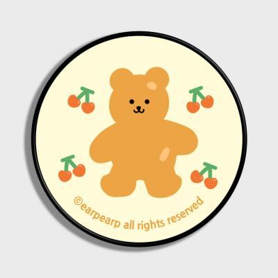 Four cherry bear-Creamyellow(스마트톡)