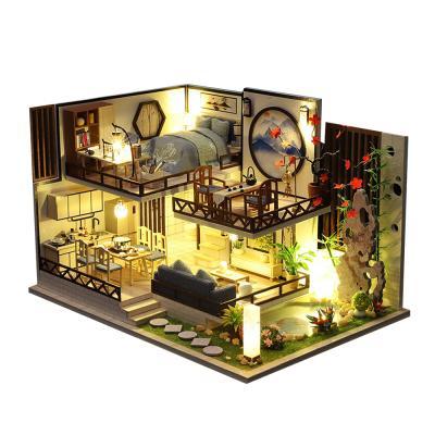 DIY 미니어처 하우스 - 블랙 올드 하우스