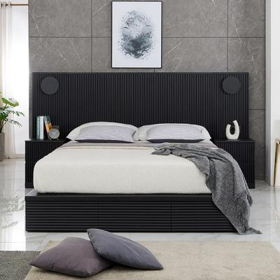 M5170 템바보드 블랙 Q 침대