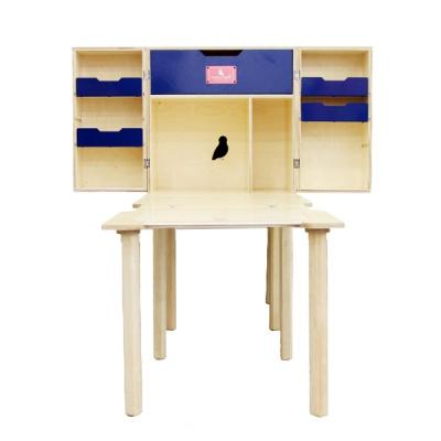 프리미엄 우드 척박스 + 전용 보조 테이블