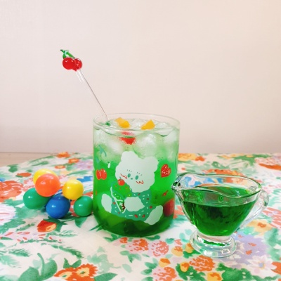 [뽐뽐스튜디오] 메론소다 컵