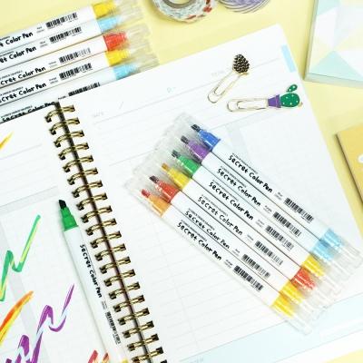 오첵 O-CHECK 색이 변하는 반전 시크릿 다꾸펜