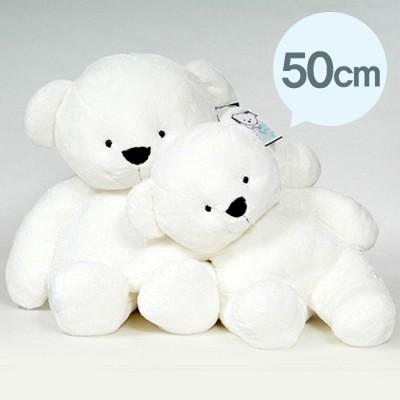 빅~싸이즈 스노우 화이트 빅 베어 곰 - 50cm