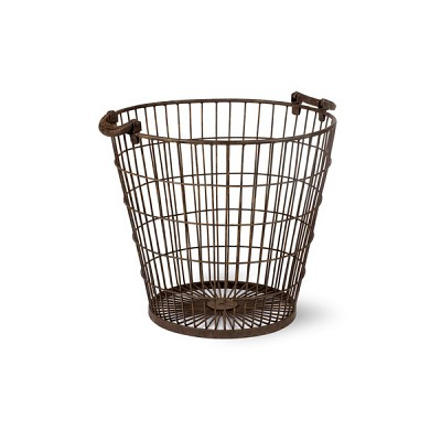 [Garden trading]Large Black Wire Basket BAWI08 바구니