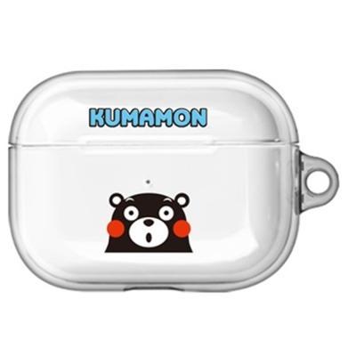 구마몬 러블리 투명 에어팟프로/Pro 케이스      블루