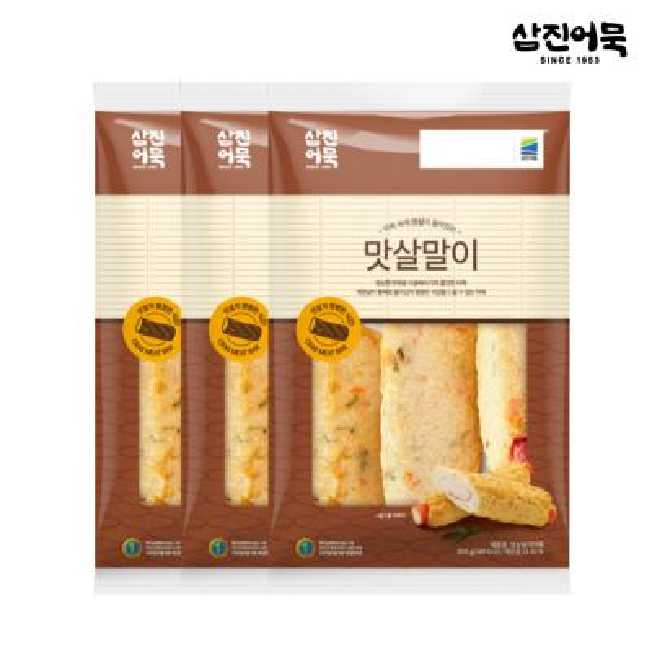 [삼진어묵] 맛살말이 1봉 300g (3개입) x 3개