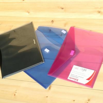 [Esselte] 포켓과 벨크로 개폐방식의 홀더화일-에쎌트 포켓홀더 ViewFront 7127- HC30-4