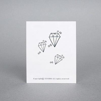diamond 패션타투