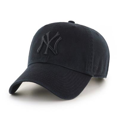 47브랜드 MLB모자 뉴욕 양키즈 올 블랙