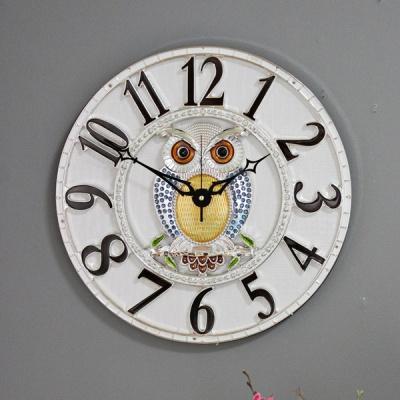 (kjco049)저소음 샤론부엉이 350벽시계 (S)