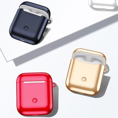 에어팟프로 유광 슬림 실리콘 케이스 고리/051블랙PRO