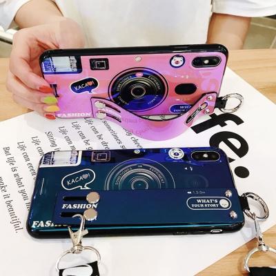 갤럭시 노트20/울트라 카메라 스트랩 실리콘 폰케이스
