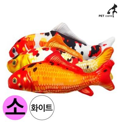 엠펫 비단잉어 캣닙 장난감 16cm (소형) (화이트)