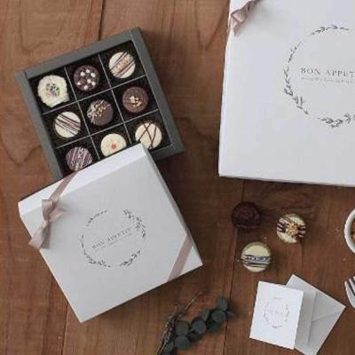 디저트 매장 오픈 사은품 기념품 수제 초콜릿 박스
