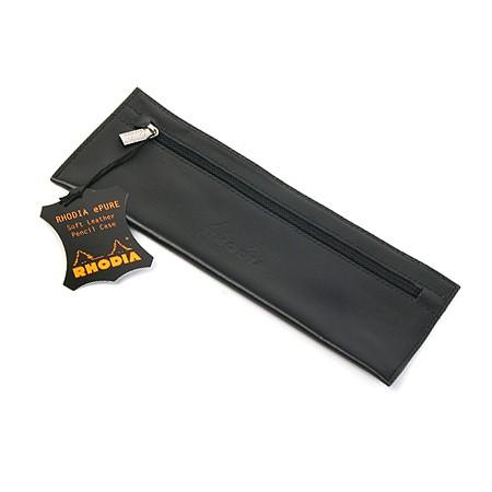 로디아  천연가죽Pencil Case (블랙)-118450