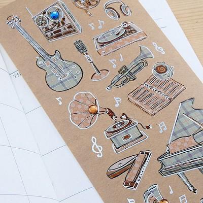 013-ss-0012 /  하모니 크라프트 스티커