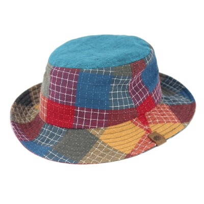 TNP OUT-DOER BUCKET HAT 티엔피 버켓햇 [STITCHED CHECK]