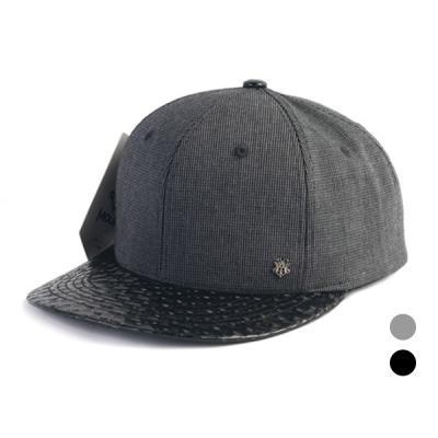 [디꾸보]바이저 배색 스냅백 모자 DCH-HN478
