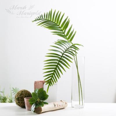 [마쉬매리골드]조화슬림 야자잎가지_101CM