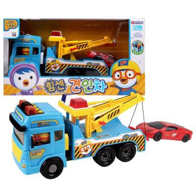 [바니랜드] 뽀로로 힘센 견인차 트럭 (트럭 자동차)