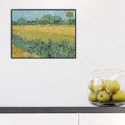[THE BELLA] 고흐 - 붓꽃이 있는 아를 풍경 View of Arles with Irises