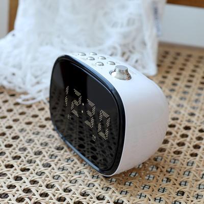 [무아스] 텔리 라디오 스피커 시계 (캠핑 차박)