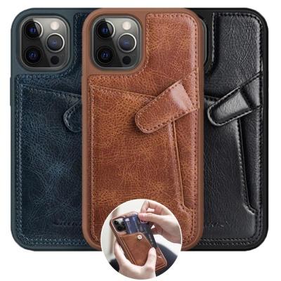 아이폰12 PRO MAX 미니/가죽 카드 수납 지갑 폰케이스