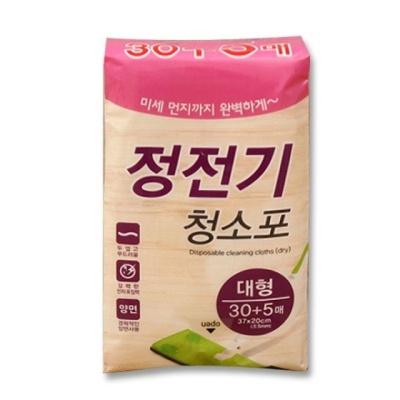 크린랲정전기청소포대형30매_마포대락카_마대_대걸레_