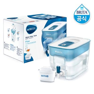 필터형정수기 브리타 플로우 8.2L 블루+필터1개월분(기본구성)