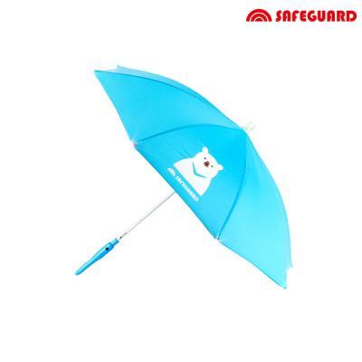 세이프가드 아동용 우산 곰_하늘색