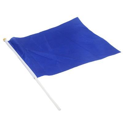 응원깃발 40x30 (블루)