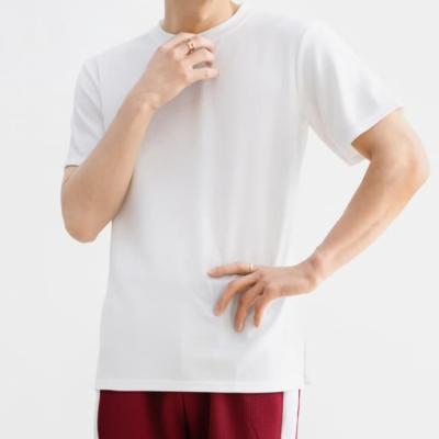 남성 남자 여름 데일리 반팔 티셔츠 루즈 엠보싱