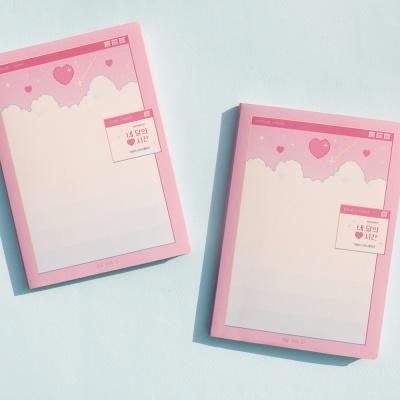 [★단독판매] 네 달의 시간 스터디플래너- 하트 픽셀 월드