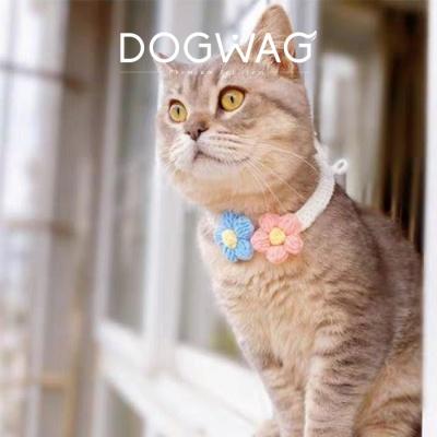 강아지 꽃개냥 목걸이 고양이 케이프