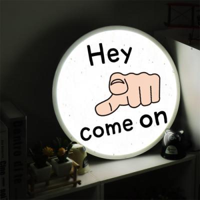 nd885-LED액자45R_헤이컴온_LED사인홍보조명무드등